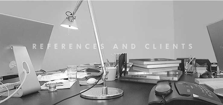 references and clients